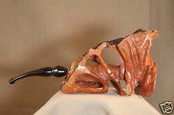 Denny Souers Hand Carved Grecian Briar Pipe - 806