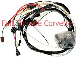 1976 Corvette Wiring Harness Engine Auto Transmission Us Reproduction C3 New