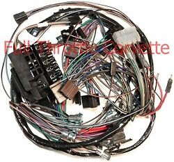 1964 Corvette Wiring Harness Dash With Back-up Lights Us Reproduction C2 New