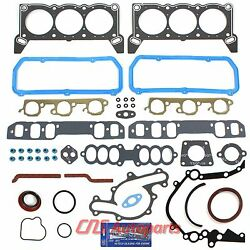 89-93 Ford Lincoln Mercury And Supercharged 3.8l 232cid Full Gasket Set Vin 4 R