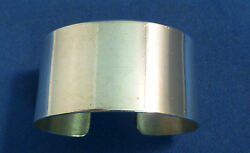 Mexican Sterling 925 Plain Oval Napkin Rings