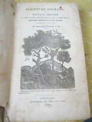 Scripture Animals1834jonathan Fisherillustrated Woodcuts1sted.historybible