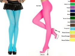 Plus Size Lingerie Hosiery Pantyhose Designer Colors Opaque Tights QS Stockings