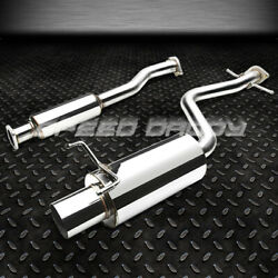 Stainless Steel Cat Back Exhaust 4tip Muffler For 01-05 Is300 Altezza 2jz-ge