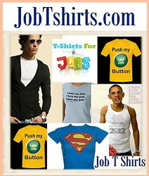 Job T Shirts .com Domain Name For Sale Print Work Tops Graphic Design Cool Shirt
