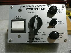 WYNN MARINE 2 SPEED WINDOW WIPER CONTROL 1545-100