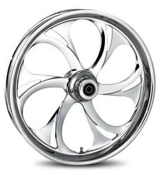 Rc Components Recoil Chrome 18 Wheels Package Set Tires Harley Flh/flt 2008