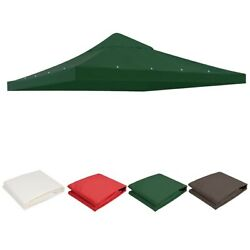10x10' Gazebo Canopy Top Replacement 1-tier Patio Pavilion Uv30+ Sunshade Cover