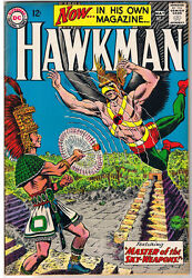 Hawkman 1 Fn/fn+ Murphy Anderson Mayan 1964 More Silver Age In Store