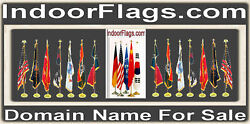 Indoor Flags .com Domain Name For Sale State School County Country Flag Pole URL