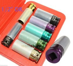 1 2quot; DR THIN WALL TORQUE SOCKET SET MAGNETIC SAE
