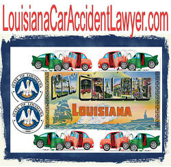 Louisiana Car Accident Lawer .com Legal Firm Dui Injury Crash Police Arrest URL