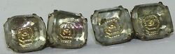 Rare 1680and039s To 1700and039s 18 Century Antique Stuart Crystal Cufflinks