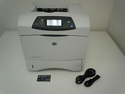 Q5400a Hp Laserjet 4250 Laser Printer Usb And Parallel Fast 45ppm +free Shipping