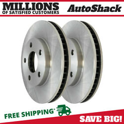 Front Disc Brake Rotors Pair 2 For Chevy Impala Buick Lesabre Cadillac Deville