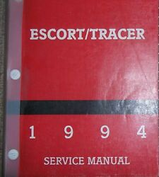 1994 FORD ESCORT MERCURY TRACER Repair Service Shop Manual FACTORY BOOK FORD