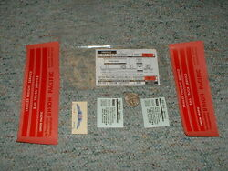 Walthers Decals O Gauge Freight 93-88 Union Pacific Red G23