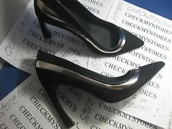 NIB NEW ADRIANNA PAPELL Diandra Two-Toned Pumps PREMIUM LEATHER DESIGNER SHOES $89.99