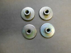 Mopar Plymouth Dodge Chrysler Bench Seat Mounting Nuts 1 1/4 Inch Set Of 4 New