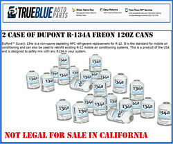 DuPont Suva R134a134a 2 CASE of 12 Automobile RefrigerantFreon (24 -12oz Cans)