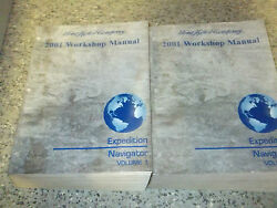 2001 FORD EXPEDITION & LINCOLN NAVIGATOR TRUCK Service Shop Repair Manual Set