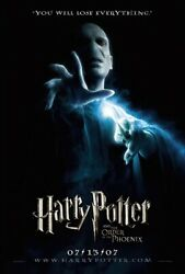 Harry Potter And Order Of The Phoenix - Movie Poster / Print Voldemort