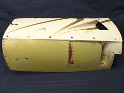 Nice Twin Cessna 414/402 Aircraft Rt Inboard Lower Cowl And Side Door W/cowl Flap