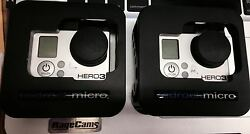 1 Gopro Hero3 Black Camera With Redrock Case And Lcd Bacpac - Bundle