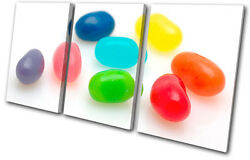 For Kids Room Jelly Beans Sweet Treble Canvas Wall Art Picture Print Va