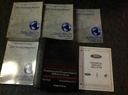 2001 Ford Explorer Sport Trac Service Shop Repair Manual Set W PCED + EWD + MORE