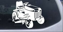 Lawn Mower Lawn Care Landscaping Car Or Truck Window Laptop Decal Sticker