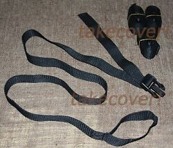4x Boat Cover Tie Down Strap Kit 1 X 55 W/ Male End And Strap Loop