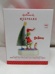 2013 Hallmark Keepsake Ornament Why Are You Stealing Our Christmas Tree