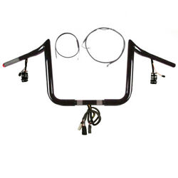 1 1/4 Bblack 13 Primeape Prewired Kit 2008-2013 Harley Road Glide Cruise And Abs