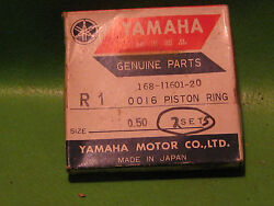 Yamaha R3 Yr1 Yr2 Yr2c 350cc Sl351 Piston Ring Sets 2nd Os Oem 168-11601-20