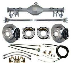 Currie 05-13 Mustang Rear End And Wilwood 12 Disc Brakeslinese- Cablesaxles++