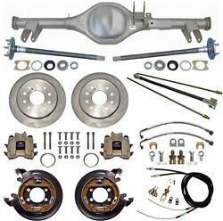 Currie 59-64 Impala Rear End And Disc Brakeslinesparking Brake Cablesaxlesetc.