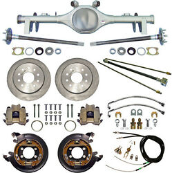 Currie 68-72 Gm A-body Rear End And Disc Brakeslinesparking Brake Cablesaxles+