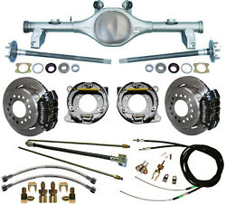 Currie 78-87 Gm G-body Rear End And Wilwood Disc Brakeslinese-brake Cablesaxles