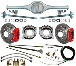 Currie Rear End And Wilwood Disc Brakesredlinescable For 87-95 Jeep Wrangler Yj
