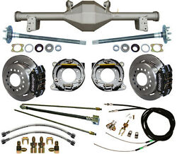 Currie 79-93 Mustang 5-lug Rear End And Wilwood Disc Brakeslinescablesaxlesetc
