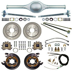 Currie 9 Ford 62 Street Rod Rear End And Disc Brakeslinesparking Cablesaxles