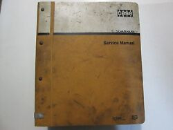 J.i. Case 310 And 310c Crawler Tractors Service Manual 9-70011 Case Used Oem