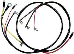 1953 - 1955 Corvette Wiring Harness Engine 6 Cylinder Us Reproduction C1 New