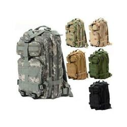 25L Sport Outdoor Military Rucksacks Tactical Molle Backpack Camping Hiking New $19.99