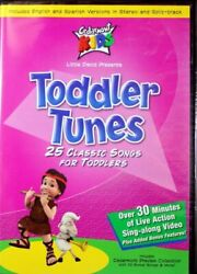 Cedarmont Kids Toddler Tunes New Dvd 25 Classic Songs For Kids