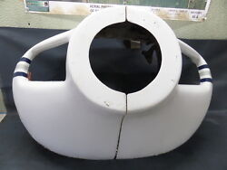 Piper Pa-23-250 Aztec Cdef Engine Cowling Fwd Nose Bowl