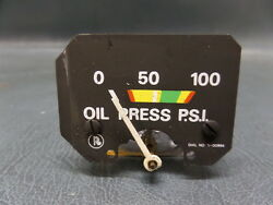 Piper Pa-23-250 Turbo Aztec F Aircraft Rochester Oil Psi Gauge 5-00994