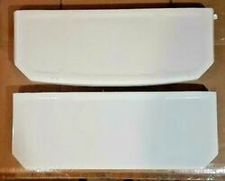 20.5 X 8 Eljer Toilet Lid 7875 Part 1 2 Types For Wall Tank White Curved