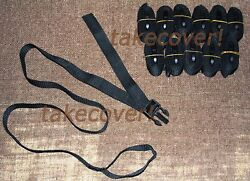 12x Boat Cover Tie Down Strap Kit 1 X 55 W/ Male End And Strap Loop